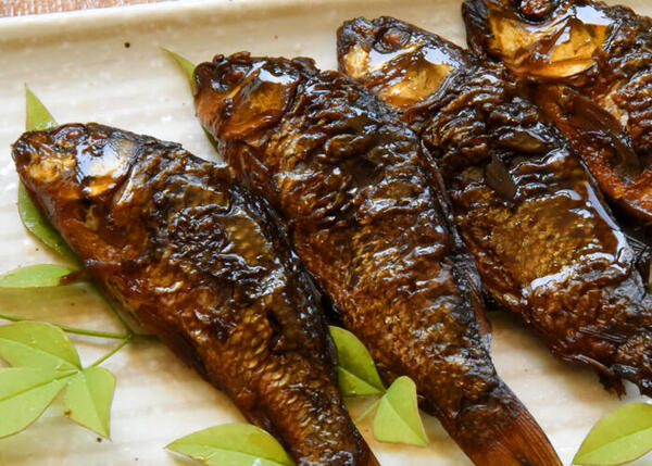 子鯉の甘露煮